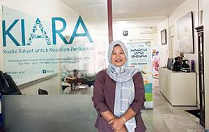 Sekertaris Jenderal Koalisi Rakyat untuk Keadilan Perikanan (KIARA) Susan Herawati