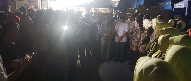 Jaksa Sahabat Masyarakat, Sahur Bersama Warga Korban Kebakaran.