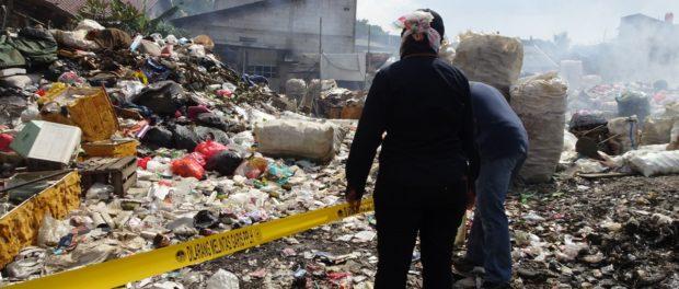 Persoalan Sampah Kini Sangat Serius, Gakkum KLHK Segel Pembuangan Sampah Ilegal di Kota Tangerang.