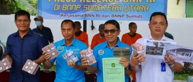 BNN Kembali Ungkap Aset Senilai Rp 15 Miliar dari TPPU Kasus 74 Kilogram Sabu.