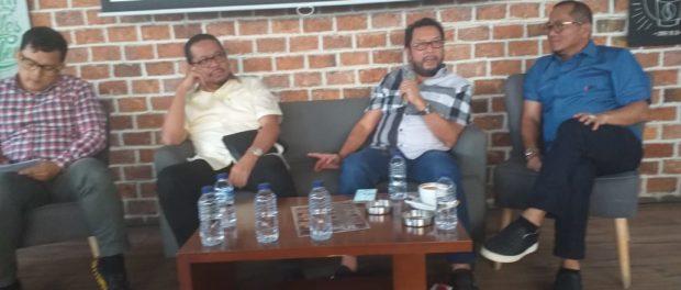 Dialog Publik bertema Misi Golkar untuk Indonesia Maju, Adil dan Makmur. Dialog publik ini digelar oleh Forum Komunikasi Putra Putri Golongan Karya (FKPPG), di Winners Cafe, Jalan Cikini Raya Nomor 77, Jakarta Pusat, Rabu (07/08/2019).
