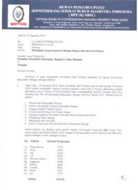 Hati-Hati, Jangan Jadikan Papua Sebagai Ladang Proyek Militer, Desak Pembentukan Tim Fact Finding Kasus Nduga, Tokoh Buruh Muchtar Pakpahan Surati Presiden Jokowi.