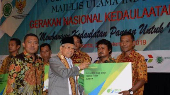 Bersama PINBAS MUI, BPJS Ketenagakerjaan Dukung Gerakan Nasional Kedaulatan Pangan.