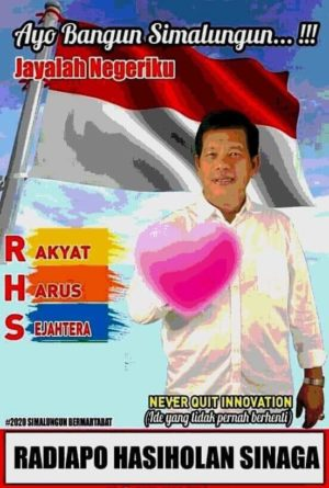 Serius Maju Sebagai Calon Bupati, Radiapo Hasiolan Sinaga Antarkan Formulir Pencalonan ke DPC PDIP Kabupaten Simalungun.