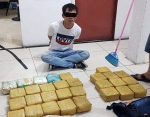 Makin Sering Terungkap Pemasokan Sabu Lintas Jalur Darat, BNN Riau Sita 30 Kilogram Sabu Dari Seorang Kurir, Ancaman Hukuman Mati Menanti.