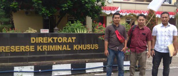 Temuan Tak Wajar Pada Audit BPK Tak Boleh Didiamkan, Mahasiswa Madina Laporkan Penyelewengan Dana DPRD Ke Polda Sumut.