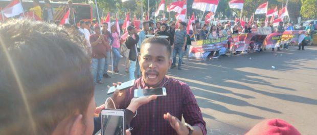 Datangi Istana, Jaringan Aktivis Mahasiswa Dukung Jokowi Revisi UU Untuk Perkuat KPK.