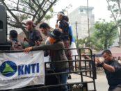 Kapal Trawl Yang Beroperasi di Perairan Pantai Timur Sumut Marak, Kesatuan Nelayan Tradisional Indonesia Gelar Aksi Ke Aparat.