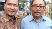 Direktur Eksekutif Lembaga Kajian Studi Masyarakat dan Negara (LAKSAMANA) Samuel F Silaen bersama Anggota DPD RI John Pieris, di Jakarta, Jumat (20/09/2019).