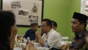 Sejumlah Pimpinan Ormas Batak Berkumpul dan Deklarasi Kawasan Danau Toba Yang Manusiawi Dan Berkearifan Lokal, di Tebet Indira Square (TIS), Jakarta Timur pada Rabu (18/9/2019).