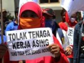 Buruh Indonesia Tolak Kedudukan Istimewa Buruh Asing.