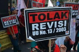 Bertemu Jokowi Nyatakan Tolak Revisi UU Ketenagakerjaan, Tetap Fokus Dengan Perjuangan Buruh, KSPI Tetap Turun Aksi di 10 Provinsi.