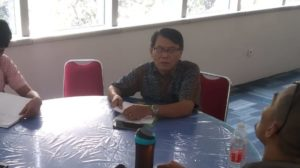 Direktur Program Pengurangan Risiko Bencana Persekutuan Gereja-gereja di Indonesia (PRB PGI) Eliakim Sitorus
