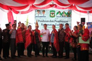 Lomba Pemilihan Kecamatan Terbaik Sumatera Utara, Kecamatan Siantar Timur Wakili Kota Pematangsiantar.