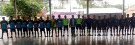 Perkuat Solidaritas dan Dukungan Kalangan Muda, Balon Bupati Samosir Swangro Lumbanbatu Gelar Turnamen Futsal.