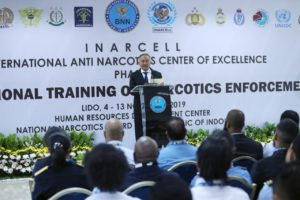 Kumpulkan Penegak Hukum Narkotika Internasional di Lido, Sukabumi, BNN Gelar International Training For Law Enforcement.