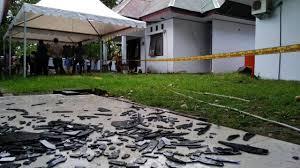 Bunyi Ledakan Terdengar Hingga 100 Meter, Kantor Jaksa Parepare Dipasangi Police Line.