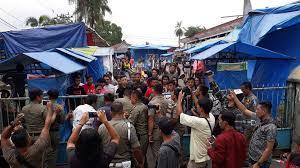 Bazar yang diadakan di GOR Kota Pematangsiantar.