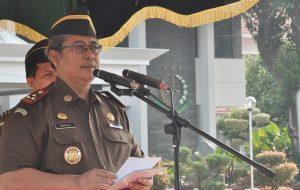 Upacara Hari Bela Negara Ke 71, Wakil Jaksa Agung Arminsyah Ingatkan Kemerdekaan Sebagai Pedoman Bela Negara.