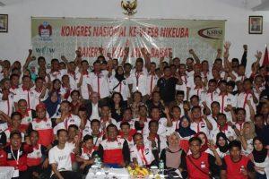 Kita Sedang Krisis Kepemimpinan. Hal itu ditegaskan Presiden Konfederasi Serikat Buruh Seluruh Indonesia (KSBSI) Elly Rosita Silaban, saat mengikuti Kongres Federasi Serikat Buruh Niaga, Keuangan dan Perbankan Konfederasi Serikat Buruh Seluruh Indonesia (FSB NIKEUBA KSBSI), di Hotel Grand Asrilia, Kota Bandung, Jawa Barat, selama tiga hari dari tanggal 1-3 Desember 2019.