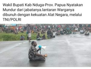 Penembakan di Nduga Papua, Kapuspen TNI Sisriadi: Operasi TNI di Papua Adalah Membantu Polri Dalam Penegakan Hukum.