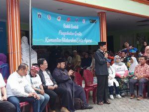 Kurangi Beban Warga, GAMKI Bersama Lintas Agama Gelar Bakti Sosial Silaturahim di Kelurahan Kapuk Muara, Jakarta Utara, pada Sabtu (11/01/2020).