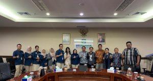 DPP Serindo saat menggelar audiensi dengan BPJS Kesehatan, di Kantor Pusat BPJS Kesehatan, Jalan Letjen Suprapto No 14, Cempaka Putih, Jakarta Pusat, Kamis (16/01/2020).