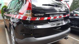 Mobil mewah disita. Ini salah satu aset Syahmirwan, yaitu mantan Kepala Divisi Investasi dan Keuangan PT Asuransi Jiwasraya (Persero), yang disita Tim Pelacakan Aset Jampidsus Kejaksaan Agung, dari rumah yang beralamat di Jalan Kavling AL, Blok C.1, Nomor 9, Duren Sawit, Jakarta Timur, pada Kamis, 16 Januari 2020. Tim Pelacak Aset terus bergerak untuk mengusut tuntas Mega Skandal Korupsi Jiwasrayagate, yang diprediksi mencapai Rp 13,7 triliun.