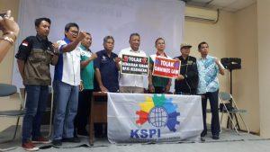 Turun Aksi Menolak UU Omnibus Law dan Kenaikan Iuran BPJS Kesehatan, Usai dari DPR, Ribuan Buruh Akan Geruduk Jasa Marga.