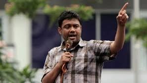 Konfederasi Serikat Pekerja Indonesia (KSPI) Said Iqbal: Buruh Menolak Omnibus Law, Ini Enam Alasannya.