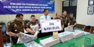 Kejaksaan Negeri Sampang Pulihkan Keuangan Negara Sebesar Rp 9 Miliar Lebih.