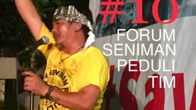 Koordinator Masyarakat Advokasi Warisan Budaya (MADYA) Jhohannes Marbun: Revitalisasi Taman Ismail Marzuki (TIM) Adalah Penyesatan Informasi, Manipulatif, dan Sarat Pelanggaran Peraturan.