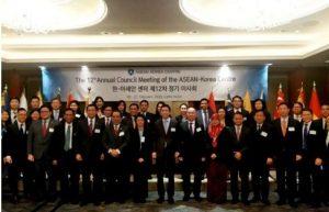 Virus Corona Merebak di China, Indonesia Perkuat Ekspor ke Korea Selatan. Foto: Sidang Tahunan Council Director ASEAN- Korea Centre di Seoul, Kamis (20/2/20).