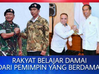 Koordinator Bela Indonesia Kita, Ronald Mulia Sitorus: Rakyat Belajar Damai Dari Pemimpin Yang Berdamai.
