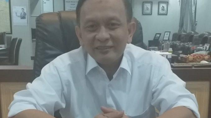 Satu Orang Diduga Terpapar Virus Corona di Medan, Kajari Kota Medan Dwi Setyo Budi Utomo Gelar Pencegahan Maksimal. Foto: Kepala Kejaksaan Negeri Kota Medan Dwi Setyo Budi Utomo, Selasa (17/03/2020). (Istimewa).