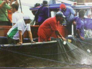 Ketua Bidang Hubungan Antar Lembaga Dewan Pimpinan Pusat Himpunan Nelayan Seluruh Indonesia (HNSI) Siswaryudi Heru: Rakyat Butuh Pasokan Makanan, Nelayan Indonesia Tolak Lockdown.