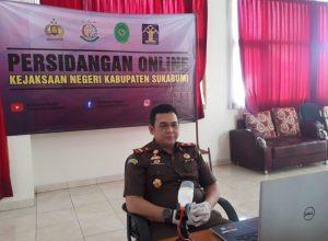 Lanjutkan Sidang Teleconference, Sudah 71 Perkara Pidana Digelar Kejari Sukabumi. Foto: Kepala Kejaksaan Negeri Sukabumi (Kajari Sukabumi), Bambang Yunianto. (Istimewa).