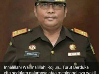 Alami Kecelakaan Di Kilometer 13 Tol Jagorawi, Wakil Jaksa Agung Dr Arminsyah dan Supirnya Tewas.