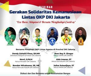 Waspada Gelombang Kedua Pasca Lebaran, Jangan Sibuk Bagi-Bagi Bansos Lalu Kisruh, Enam Pimpinan OKP DKI Jakarta Minta Pemerintah Serius Tangani Covid-19. (Ist)