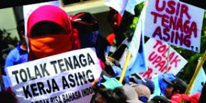 Presiden Buruh Kecam Masuknya Tenaga Kerja Asing Di Tengah Pandemi Virus Corona Ke Indonesia.