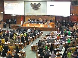 Penyerapan Aspirasi Rakyat Tidak Maksimal, Dua RUU Yang Sedang Dibahas DPR Dipersoalkan. – Foto: Suasana Sidang Paripurna DPR di Gedung MPR/DPR Senayan Jakarta. (Net)