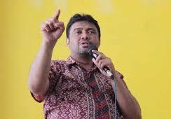 KSPI Nyatakan Mundur Dari Tim Teknis Pembahasan Omnibus Law RUU Cipta Kerja Klaster Ketenagakerjaan. – Foto: Presiden Konfederasi Serikat Pekerja Indonesia (KSPI), Said Iqbal. (Net)