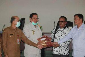 Pemkab Nias Barat Terima Kunjungan Rombongan DPRD Provinsi Sumatera Utara.