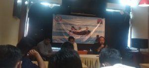 Dugaan Korupsi Ganti Rugi Pengadaan Lahan Pemkot Pekanbaru Belum Menemukan Titik Terang. – Foto: Diskusi Fenomena Gunung Es Korupsi di Pekanbaru, di Jakarta, Rabu (19/08/2020). (Ist)