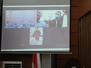 Lanjutan Sidang Kasus Penipuan Dan Penggelapan PT Dian Bara Genoyang, Terungkap Banyak Mata Uang Dolar Amerika Di Rekening Perusahaan. – Foto: Persidangan lanjutan kasus penipuan dan penggelapan PT Dian Bara Genoyang (PT DBG), di Pengadilan Negeri Jakarta Selatan (PN Jaksel), Selasa (04/08/2020). (Ist)