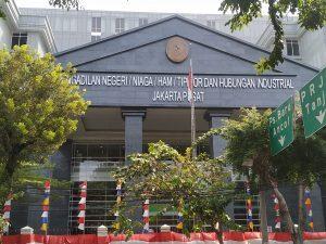 PN Jakpus Kena Serangan Virus Corona, Masih Identifikasi Orang-Orang, PN Jakpus Belum Lakukan Penutupan Pengadilan. – Foto: Situasi Pengadilan Negeri Jakarta Pusat (PN Jakpus), Rabu, 19 Agustus 2020. (Ist)