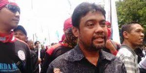 Buruh Tolak Penghentian Sementara Iuran BPJS Ketenagakerjaan. – Foto: Presiden Konfederasi Serikat Pekerja Indonesia (KSPI), Said Iqbal. (Net)