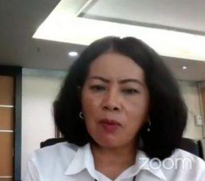 Hukuman Penjara 7 Tahun Atau Denda Rp 100 Miliar Bagi Pencuri Data Pribadi, Pemerintah Sedang Membuat RUU Perlindungan Data Pribadi atau RUU PDP. – Foto: Sekjen Kementerian Komunikasi dan Informatika (Sekjen Kominfo), Rosarita Niken Widiastuti dalam Seminar Daring Pelindungan Data Pribadi, FBM di Jakarta, Minggu (09/08/2020) lalu. (Ist)