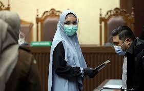 Bantah Keterlibatan Mantan Ketua MA Hatta Ali dan Jaksa Agung Burhanuddin Dan Bantah Kekayaan Sebagai Hasil TPPU, Bantahan Sudah Masuk Pokok Perkara, Kuasa Hukum Jaksa Pinangki Diduga Tak Paham Eksepsi. – Foto: Sidang Pembacaan Eksepsi terdakwa kasus Tindak Pidana Pencucian Uang (TPPU) Jaksa Pinangki Sirna Malasari, di Pengadilan Tipikor pada Pengadilan Negeri Jakarta Pusat (PN Jakpus), Selasa (30/09/2020).(Net)