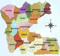 Penyerobotan Lahan di Kecamatan Jambe Tangerang, Kuasa Hukum Sebut Tanah Mau Dilego ke Pengembang. – Foto: Peta Wilayah Kecamatan Jambe, Kabupaten Tengaerang.(Net)